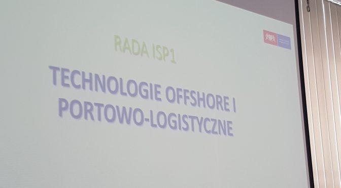 Wybory do Rady Inteligentnych Specjalizacji Pomorza-ISP1 Technologie offshore i portowo-logistyczne.