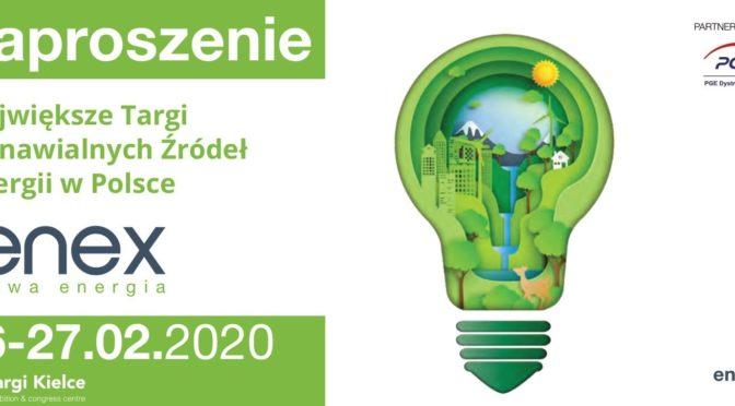 TARGI ENEX/ENEX Nowa Energia 2020
