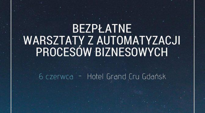 Warsztaty z automatyzacji procesów biznesowych