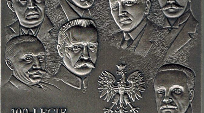 Medal 100-lecia odzyskania przez Polskę niepodległości