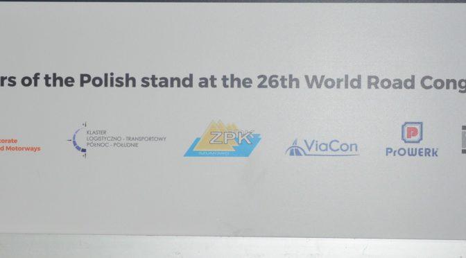 Polska na 26 Światowym Kongresie Drogowym